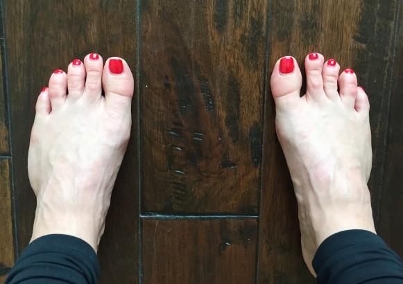 Feet Hip Width Distance