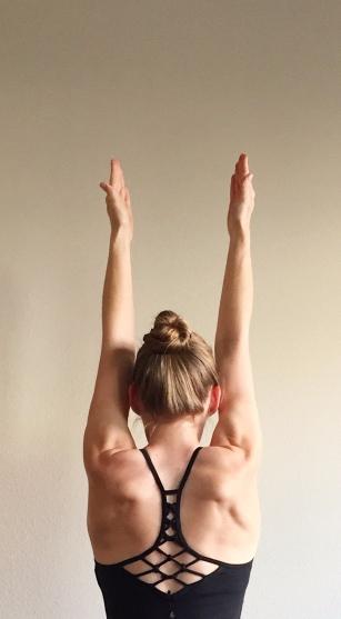 Shoulders Extending Back